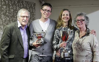 Ken and Brenda Bray Trophies 2015 2