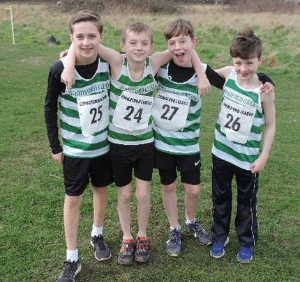 U13s Chingford Relays