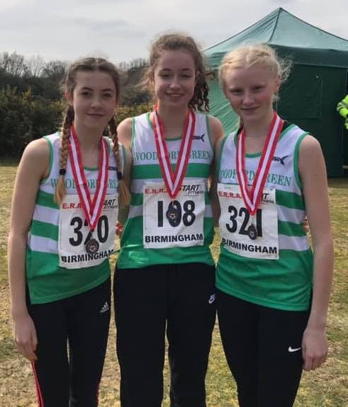 U15 Girls National 5K 2019