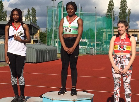 Denesha Rocastle Essex Champs 2019