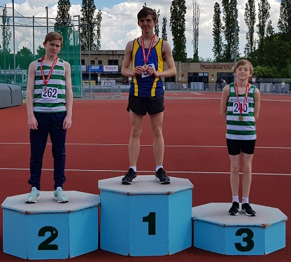 Jacob Hardy and Jimmy Geller Essex 3000m