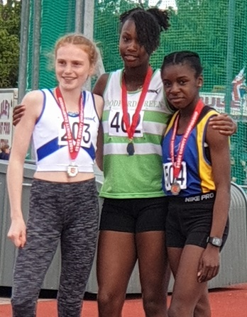 Zahara Malcolm Essex 800m gold