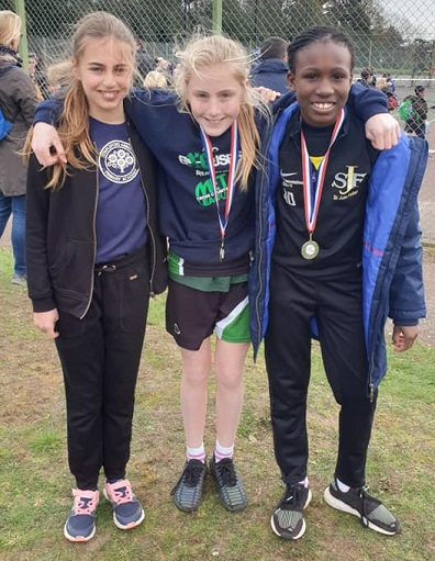 Year 6 Girls West Essex Primary CC Champs 2019